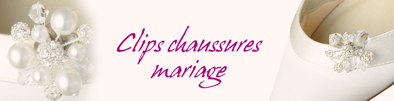 Clips chaussures mariage