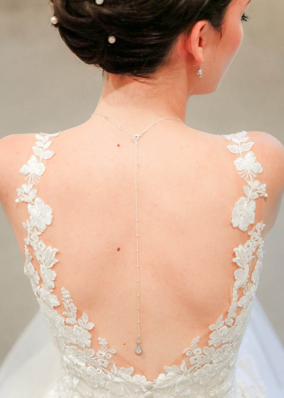 Bijou de dos mariée Victoria