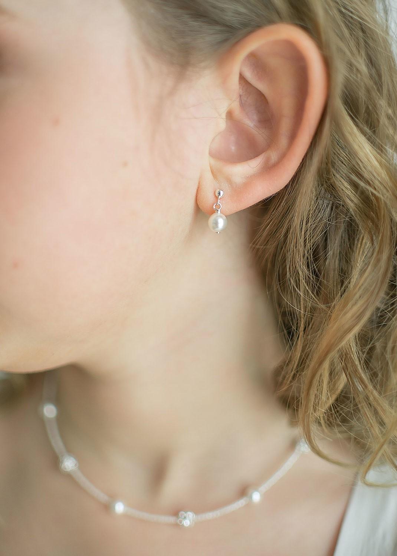 Boucles d'oreilles enfant Elena