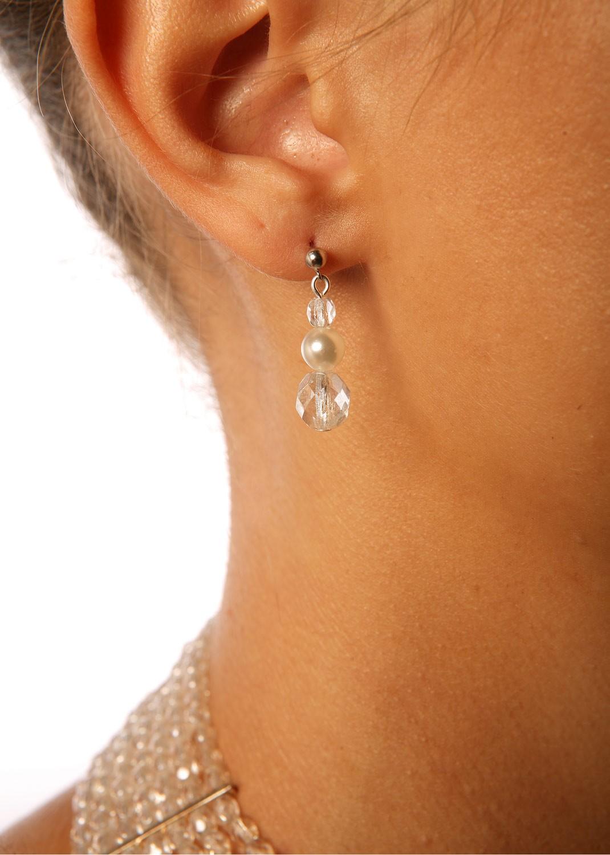 Boucles d'oreilles mariage Cléopâtre