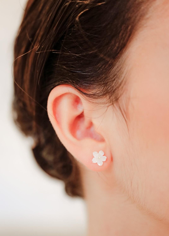 Boucles d'oreilles mariage Gardania
