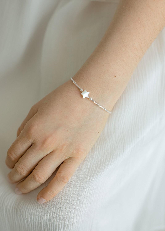 Bracelet cérémonie enfant Etoile
