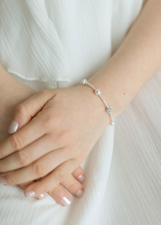 Bracelet cérémonie enfant Lucie