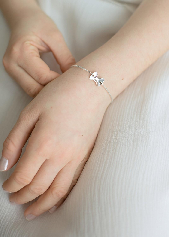 Bracelet cérémonie enfant cristal