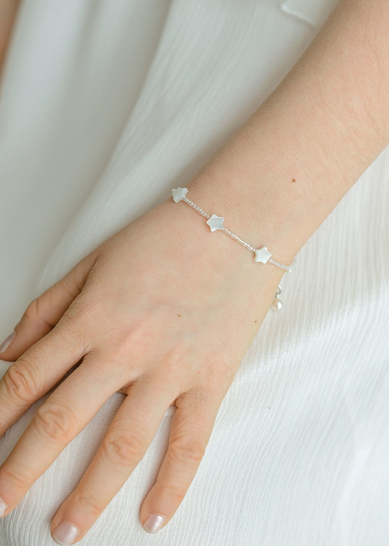 Bracelet cérémonie enfant Petites Etoiles