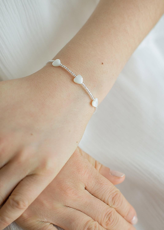Bracelet cérémonie enfant Agathe
