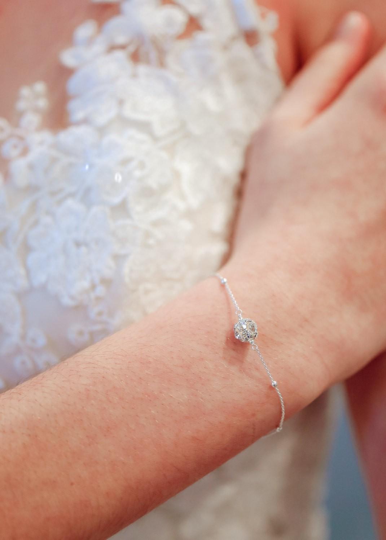 Bracelet de mariage Lucia