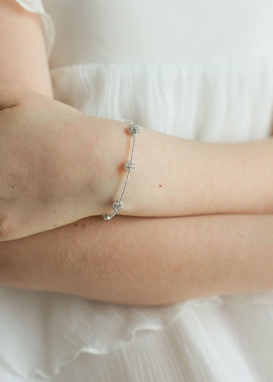 Bracelet ceremonie enfant Carolina