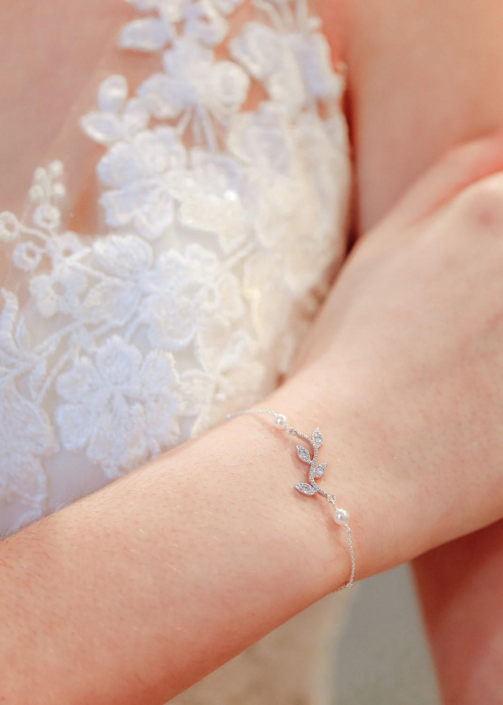 Bracelet de mariée Jade