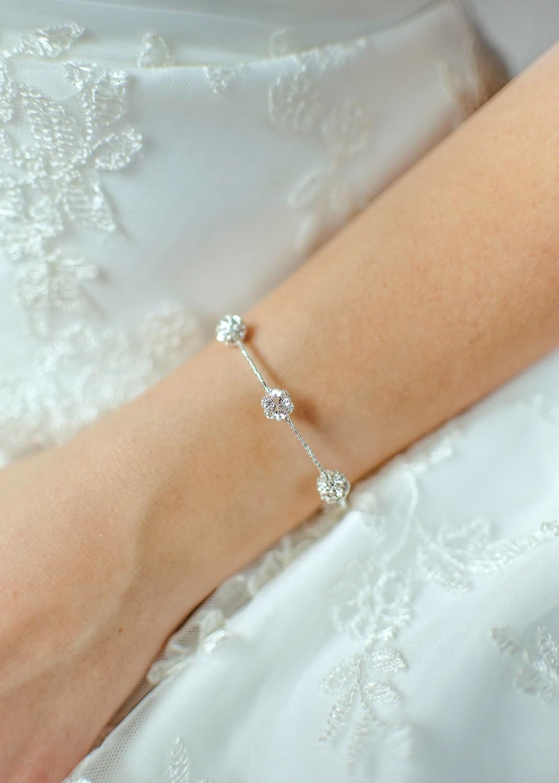 Bracelet mariée Carolina