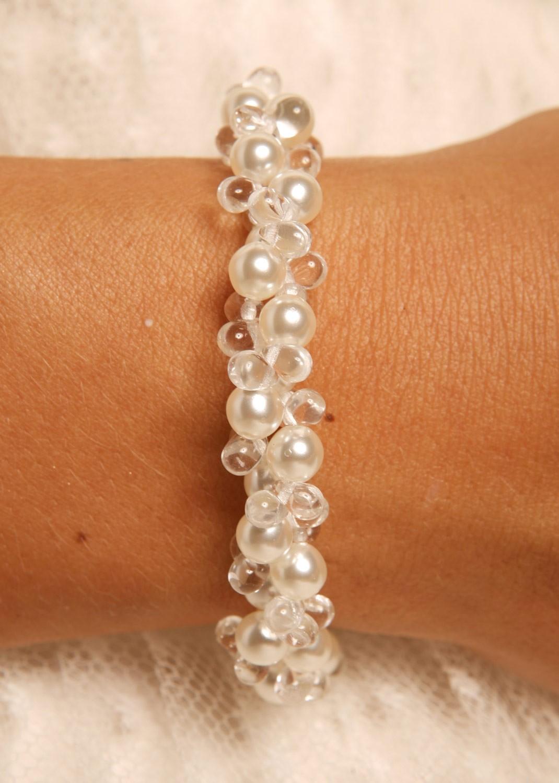 bracelet perle mariage