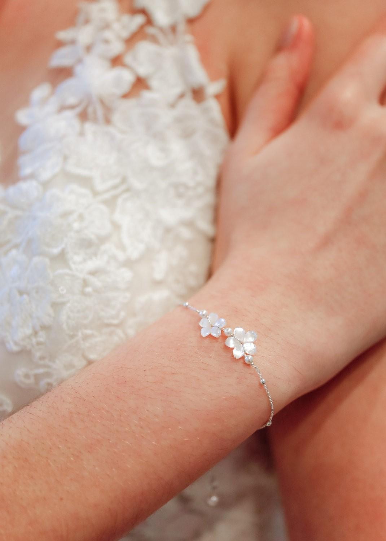 Bracelet mariée Gardania