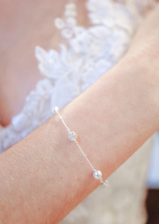 Bracelet mariée Ines