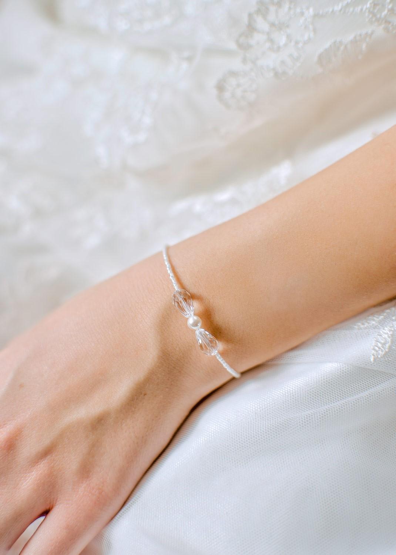 Bracelet mariée Mila