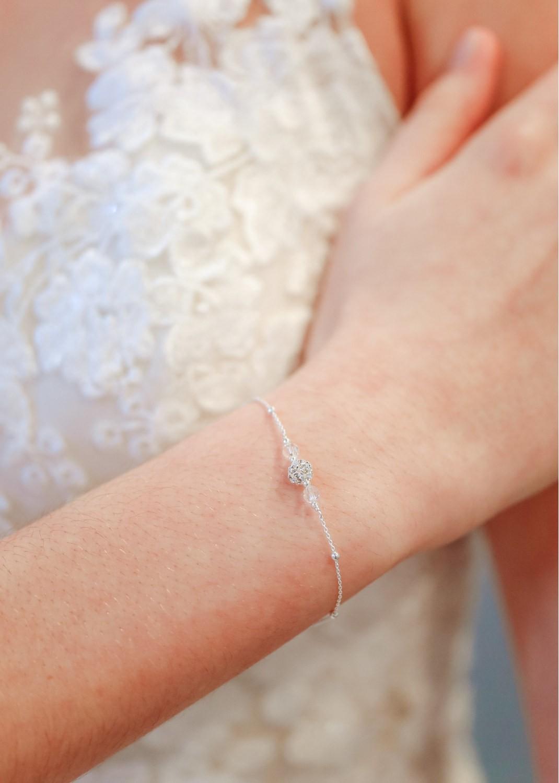 Bracelet de mariée Noémie