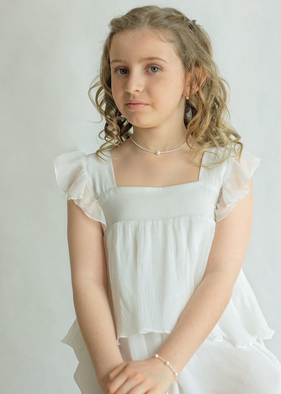Collier cérémonie enfant Léa
