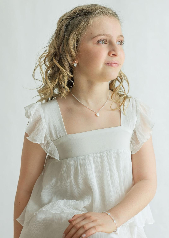Collier cérémonie enfant Agathe