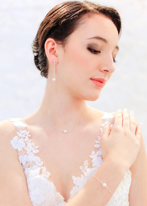 Collier mariage Eléana