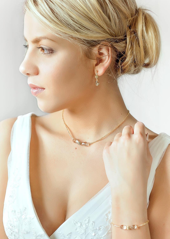 collier de mari e artisanal en cristal jessica princesse d 39 un jour. Black Bedroom Furniture Sets. Home Design Ideas