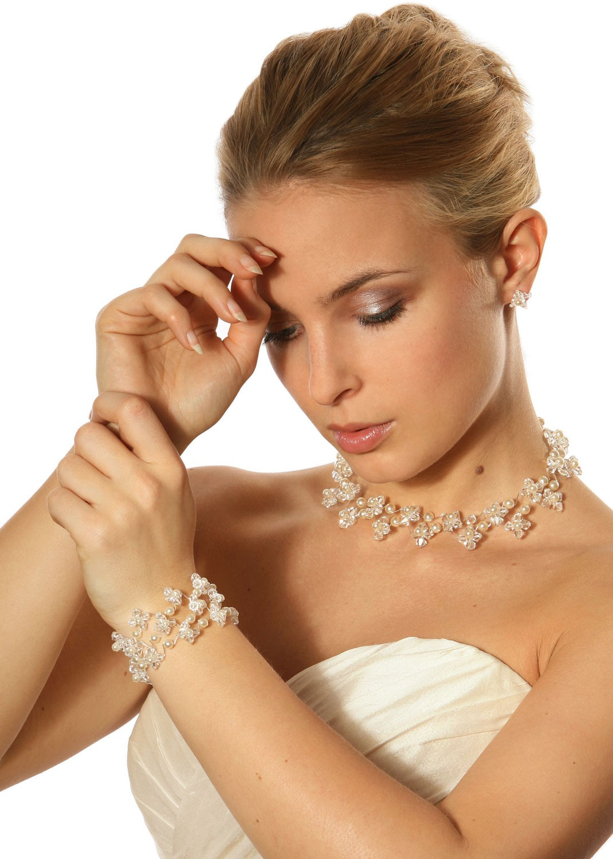 collier mariage orn de swarovski elements starlight perles princesse d 39 un jour. Black Bedroom Furniture Sets. Home Design Ideas