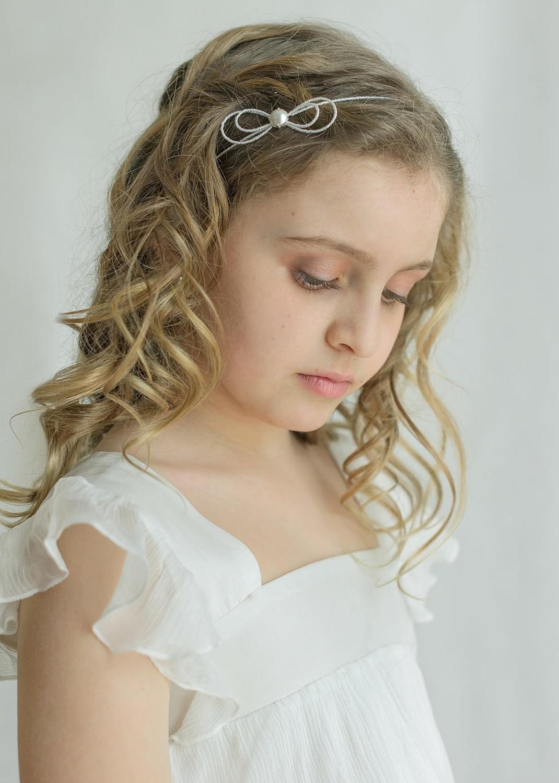 Headband cérémonie enfant Alice