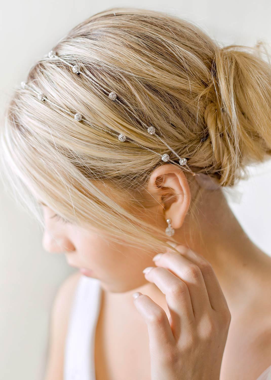 Headband mariage Carolina