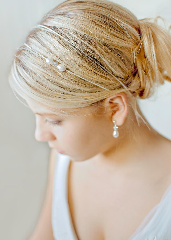 Headband mariage Anna