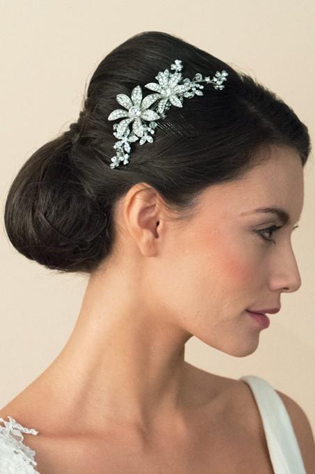 Peigne mariée Lotus