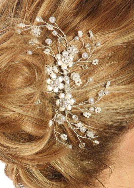 peigne pour coiffes de mari es mod le romance princesse d 39 un jour. Black Bedroom Furniture Sets. Home Design Ideas