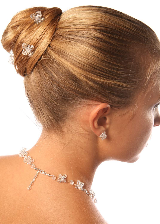 Pics cheveux mariage Cristal (lot de 3)
