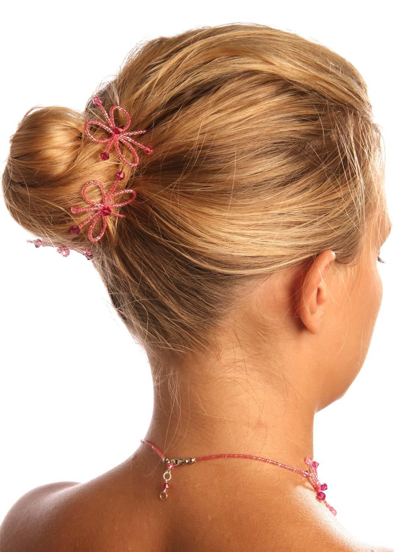 pics cheveux mari e en couleur rosa framboise princesse d 39 un jour. Black Bedroom Furniture Sets. Home Design Ideas