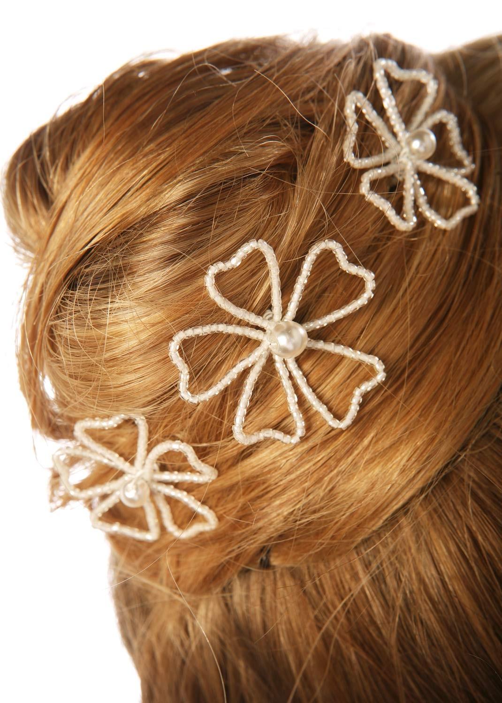 Pics cheveux mariage Angélique