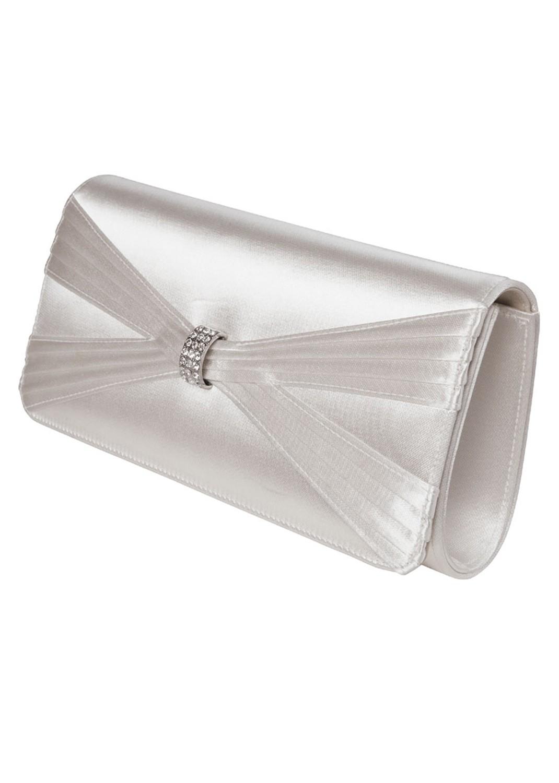 sac a main longchamp 3d - Pochette Mariage Ecru