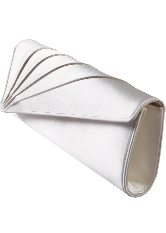 pochette mariage satin tess sac main marie tess - Pochette Argente Mariage