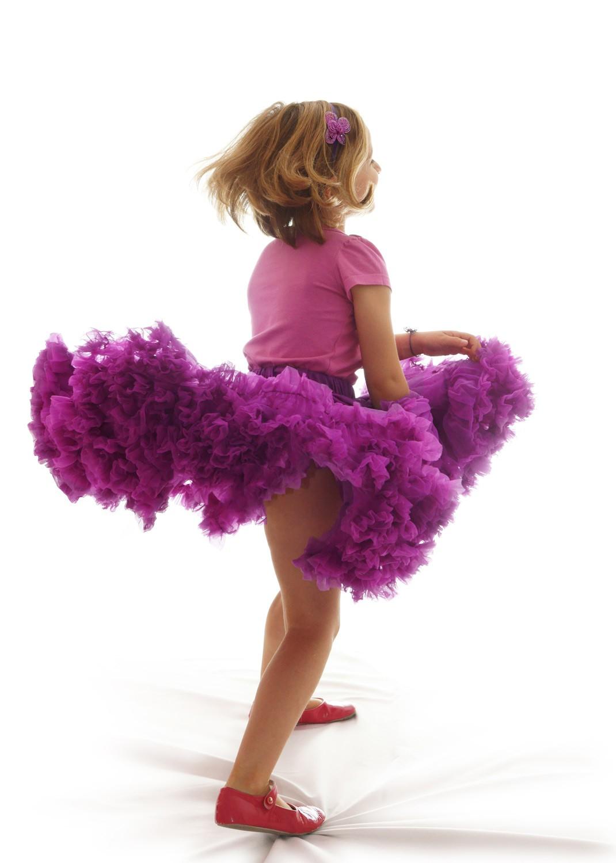 Jupe tutu enfant violet princesse d 39 un jour - Princesse qui danse ...