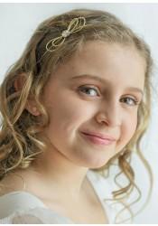 Accessoires cheveux enfant doré