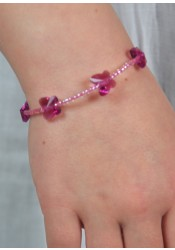 Bracelet enfant Petits Papillons - 5 coloris disponibles