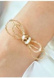 Bracelet mariage Alice miel