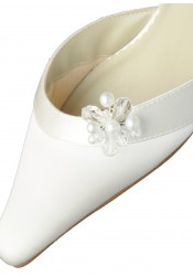 Clips chaussures mariage perles