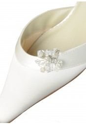 Clips chaussures mariage strass
