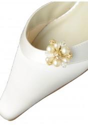 Clips chaussures mariée