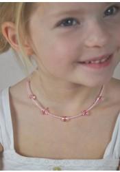 Collier enfant Petites Fleurs - 8 coloris disponibles