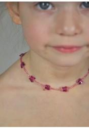 Collier enfant Petits Papillons - 5 coloris disponibles