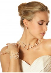 Collier mariage Alice