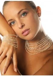 Collier mariage Cléopâtre Perles