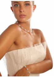 Collier mariage Cristal