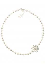 Collier mariage Fleur de Lotus