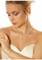 Collier mariage Innocence gouttes