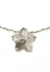 Collier mariage Bliss argent