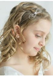 Headband enfant Alice argent